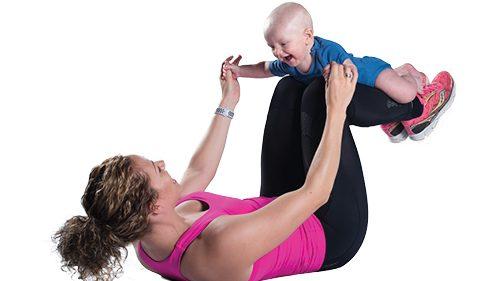 Trening for mor og barn